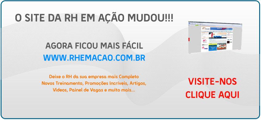 RH EM AÇÃO - Consultoria e Treinamento Página Inicial 16b16ff018c75